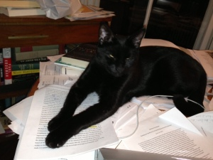 Simon takes over